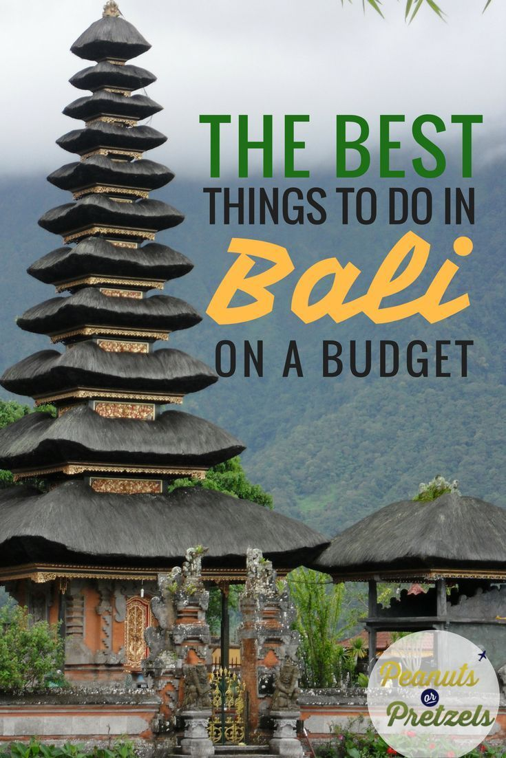 We spent a month on the beautiful island of Bali, and while we were initially surprised at the high costs of Bali, we were able to come up with some great ways to experience beautiful Bali on a budget. Bali is an amazing place so don't let high costs put your off - check out our great budget-friendly picks for activities in Bali. | Peanuts or Pretzels