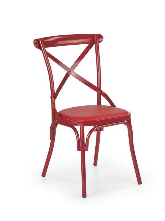 Krzesło K216 czerwony