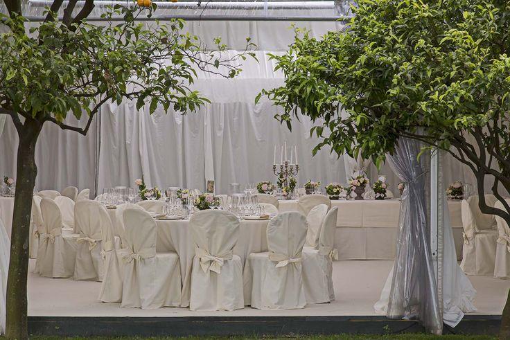 Cena sotto il gazebo. Atmosfera. #matrimonio
