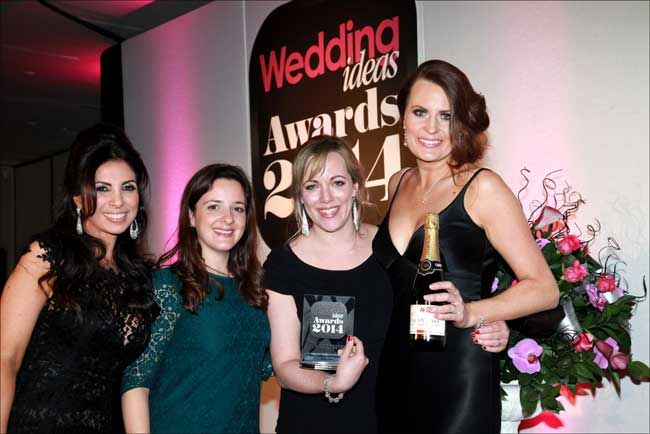 Congratulations to Sarah Legge who was named Best Wedding Photographer at the Wedding ideas Awards 2014