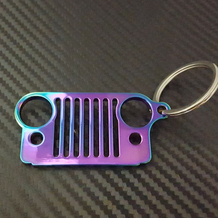 Jeep Grill Keychains / Garage Girls Jewelry