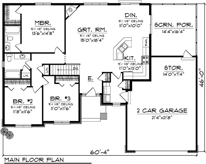 71 best images about floorplans with bedrooms grouped for Country house plans with open floor plan