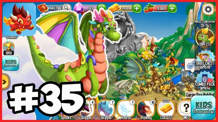 Dragon City : Clay Dragon Ep.35   Best Dragon App Game for Free