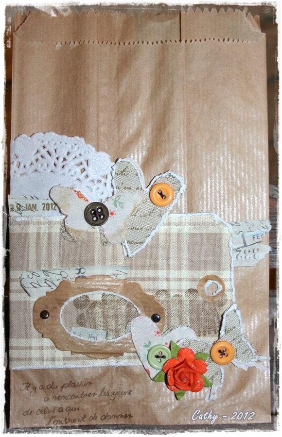Paper bag shabby pour Couette