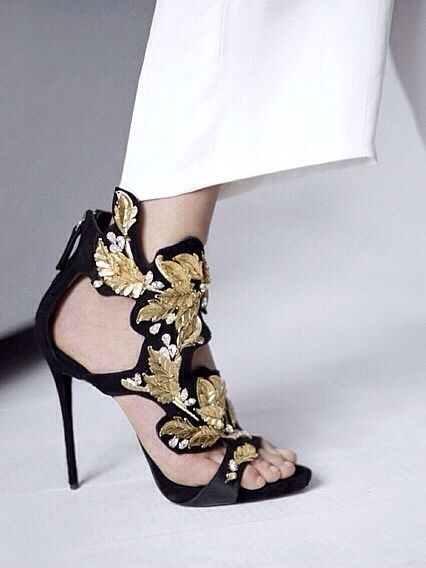 I will find you and I will buy you! How gorgeous are these Giuseppe Zanotti heels!!