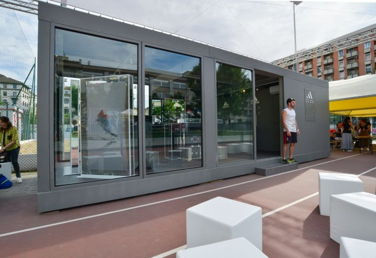 Adidas Football Base in Milan fitted out by Migliore+Servetto Architects