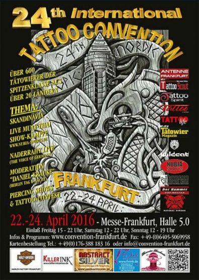 Tattoo Convention Frankfurt 2016