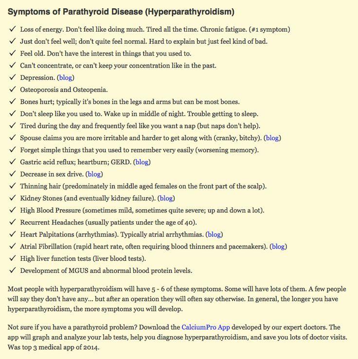 Parathyroid aka Hyperparathyroidism