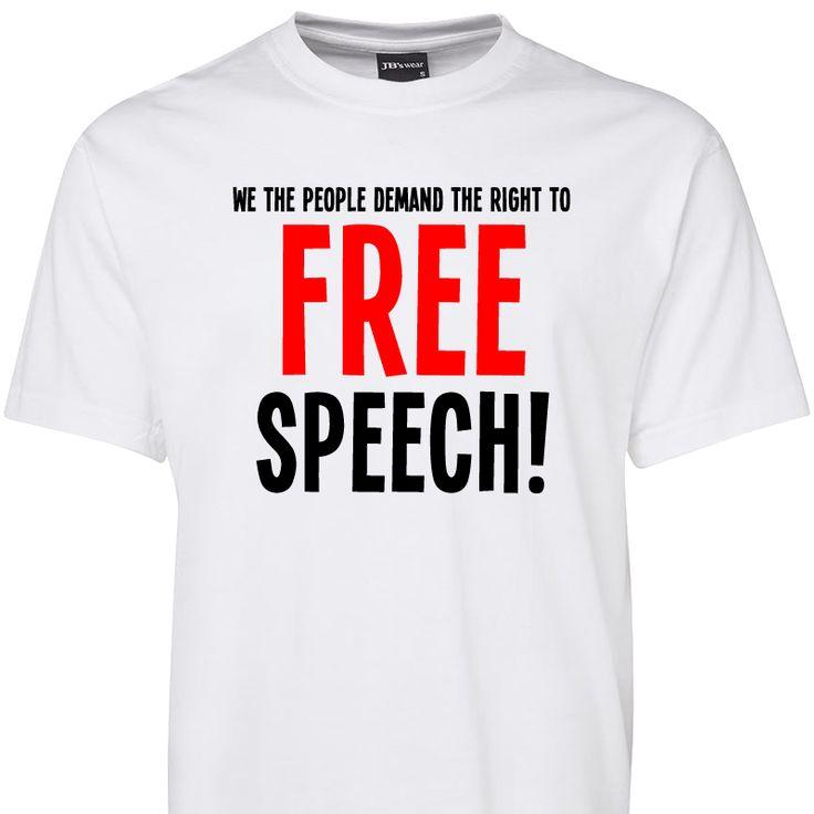 Free Speech T Shirt