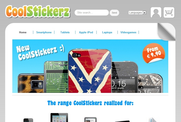 E-commerce Coolstickerz