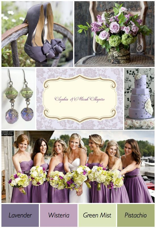 Le Green Chair Sashes And Lavender Organza Overlays Wedding Theme Colors Themespurple
