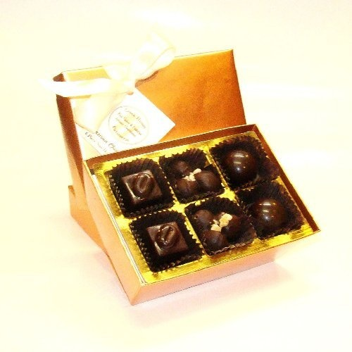 Gourmet 12 Piece Vegan Chocolate Collection by Creek House $17.50