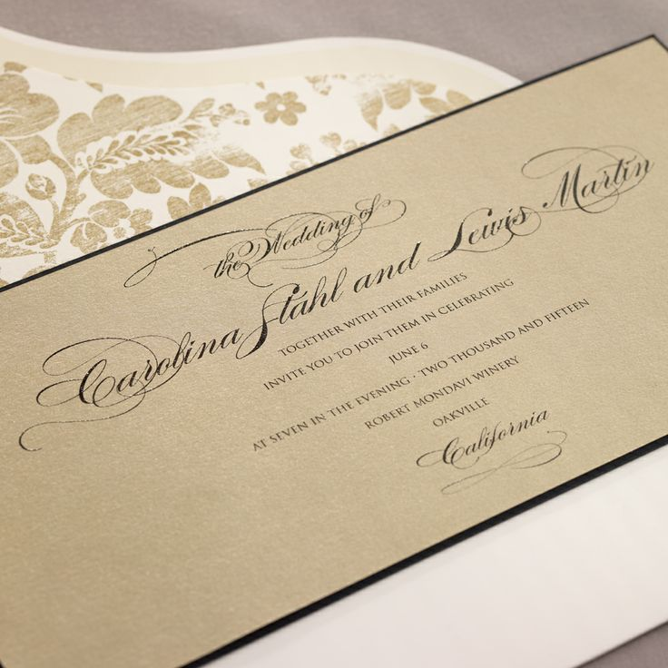 Luminesce with Geneva Flap envelopes eInvite Wedding
