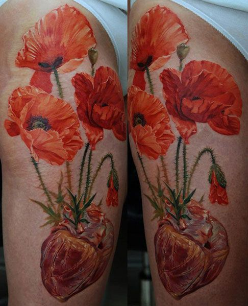 poppy lest we forget tattoos - Google Search