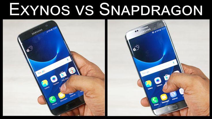 Galaxy S7 Snapdragon vs Exynos variant comparison https://www.youtube.com/watch?v=WSlZc0viIu4