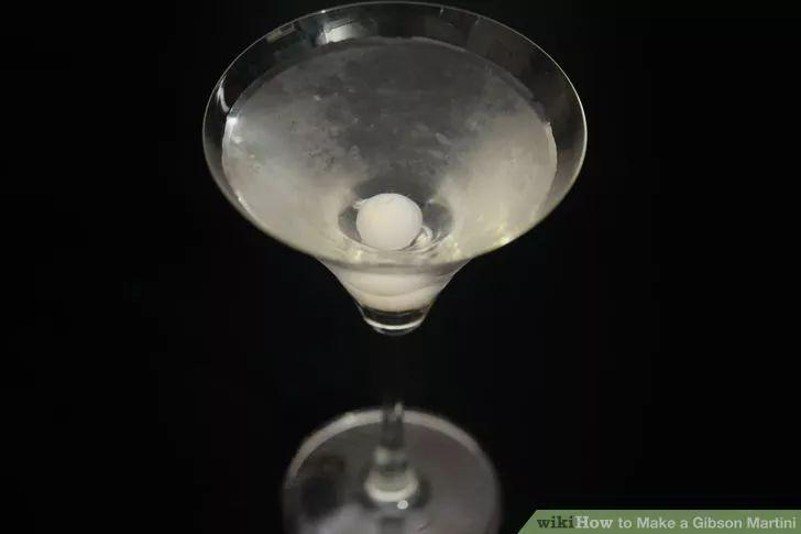 Image titled Make a Gibson Martini Step 7