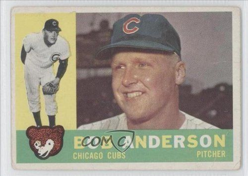 Bob Anderson WB Chicago Cubs (Baseball Card) 1960 Topps #412A by Topps. $1.33. 1960 Topps #412A - Bob Anderson WB