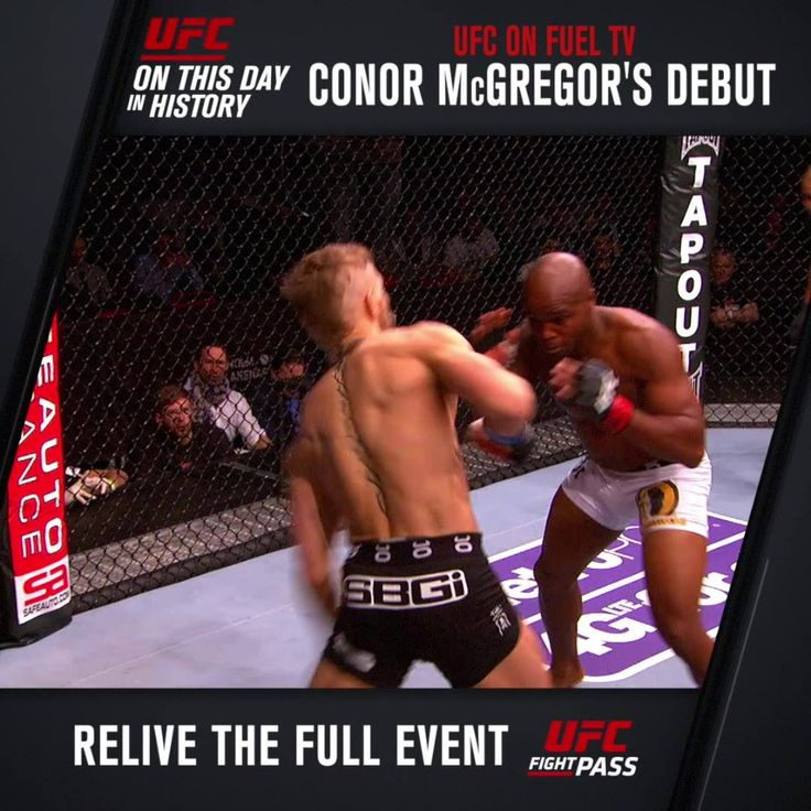 #OnThisDay in UFC history - April 6, 2013: The Notorious Conor McGregor made his UFC debut. The rest, as they say, is history