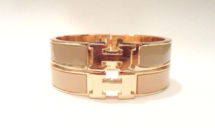 handbags hermes - Fall H Bracelet Hermes inspired H Clic Clac bracelet. Bracelet is ...