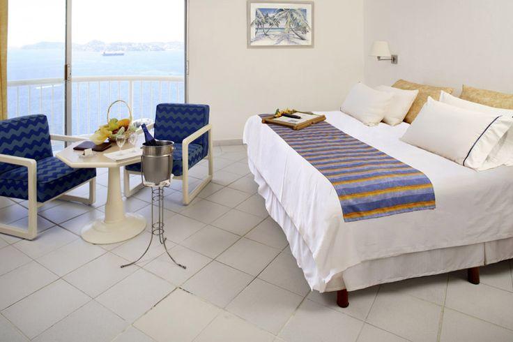 Habitación sencilla con vista al mar