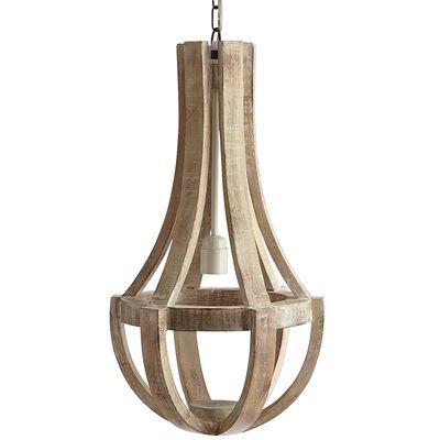 Lighting Maison Wood Pendant Lamp Antique White I Pier One Mango Chandelier Whitewashed Curved
