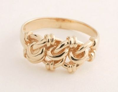 Ring - LOVE KNOT - Sterling Silver or 9ct Gold