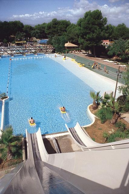 the Banzai at Aqualand Arenal in Mallorca