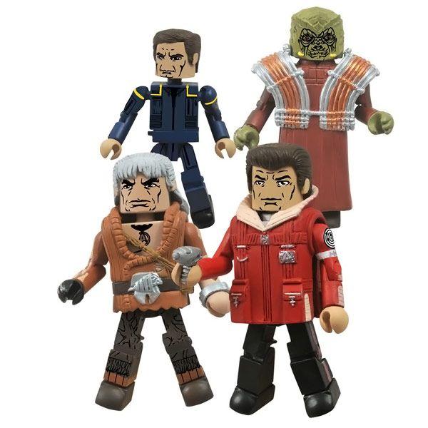 Star Trek Legacy Minimates Series 1 Set