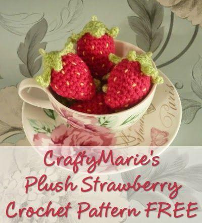 Mini Crochet Strawberry Pattern Free