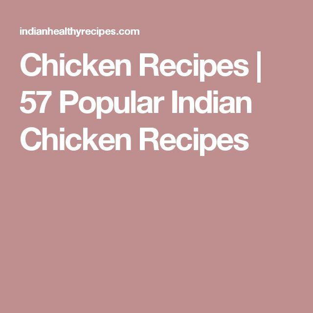 Chicken Recipes   57 Popular Indian Chicken Recipes