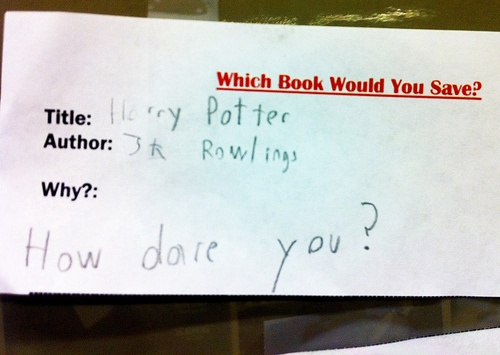 Harry Potter Book Banned : Banned books week banning harry potter quot how dare you