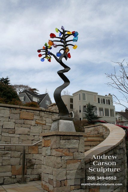 Andrew Carson wind sculpture | Glass art | Pinterest | Art ...