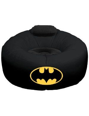 ** This inflatable air chair with the Batman emblem design is AWESOME! Buuut also unavailable on Amazon and they don't know when/if it will become available again. Well fuck you then, Amazon! Take that shit down until it IS available! Jerks.
