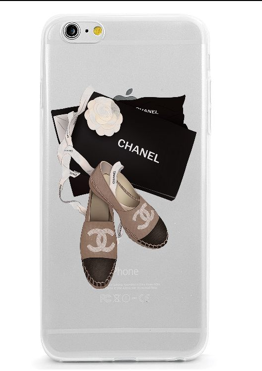 Channel shoes clear case iphone 7 case