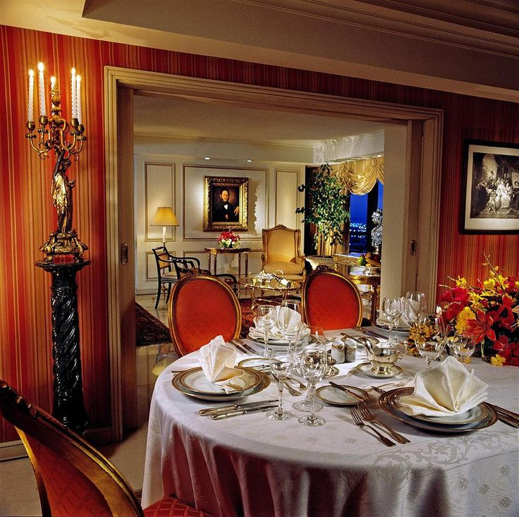 Park Tower, Buenos Aires—St. Regis Suite Dining Room | por Luxury Collection Hotels and Resorts