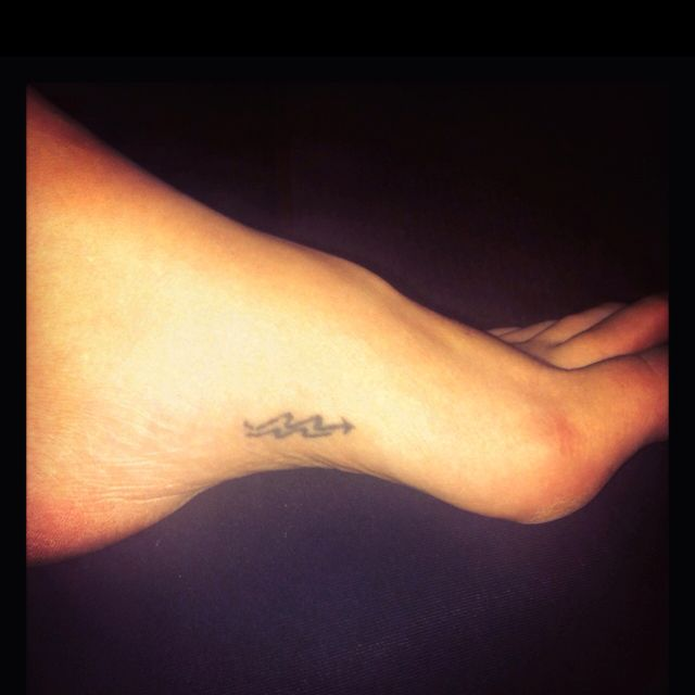 """Placement for my """"Road not taken"""" tattoo. Can't decide between the arch of my foot or the outside edge. Right foot though, the same foot with my papa/grandma one."""