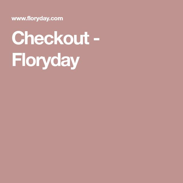 Checkout - Floryday