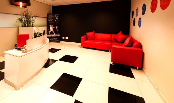 Revive Reception Area
