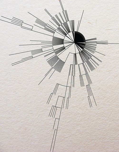 Interesting radial design, I'm thinking about drawing up a wavy/abstracted version of this