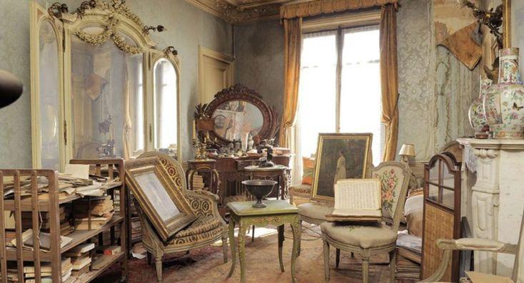 Een tijdcapsule met verborgen schat   Dit appartement in Parijs bleef 70 jaar onbewoond