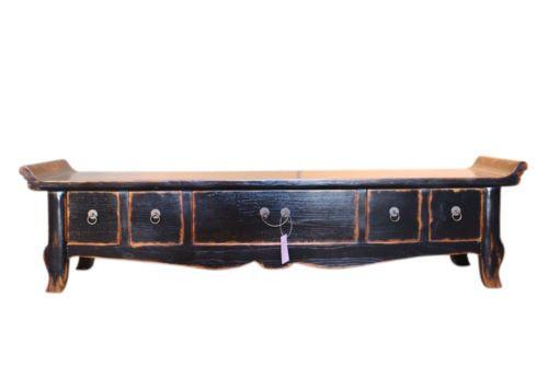 China Bank Lowboard Longboard ca. 60 Jahre in Möbel & Wohnen, Möbel, TV- & HiFi-Tische | eBay