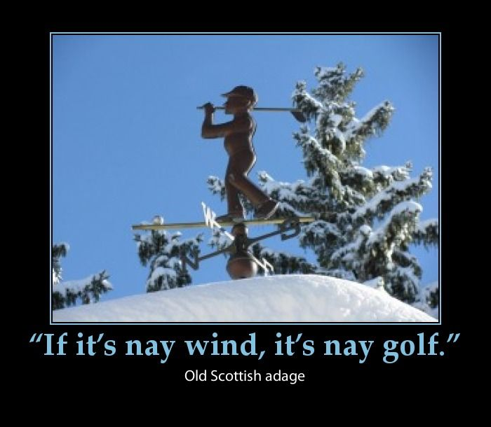 Friday Funny Quotes Winter Humor: Winter Golf Cartoons