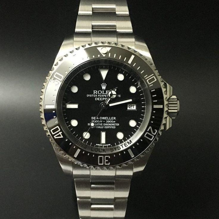 Rolex Deepsea Sea-Dweller 116660 (2013). #watchporn #watchmania #wristwatch #watchoftheday #timepiece #secondhand #instawatch #secondoriginalwatch #jamtanganseken #preownedwatch #luxurywatch. www.mulialegacy.com