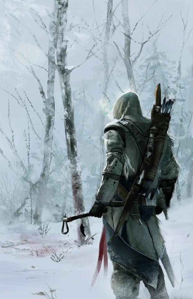 Connor - Assassin's Creed III Fan Art