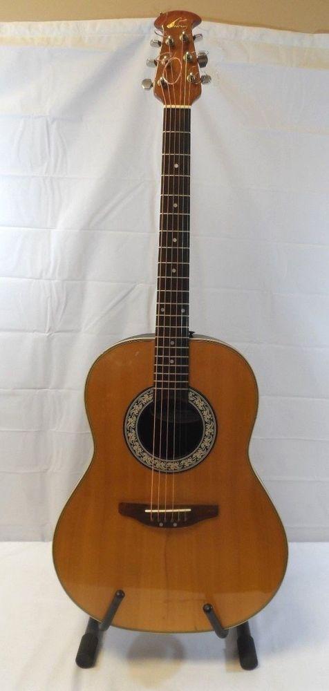 Ovation Ultra 1312 Acoustic Guitar  #Ovation