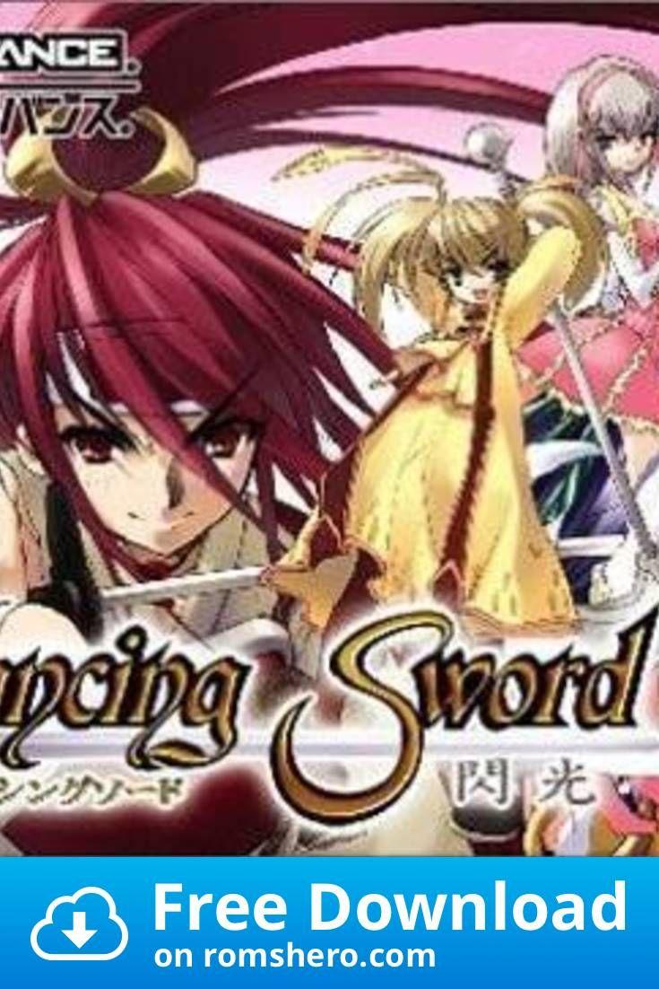 Download Dancing Sword Megaroms Gameboy Advance Gba Rom In 2020 Gameboy Advance Gameboy Gba