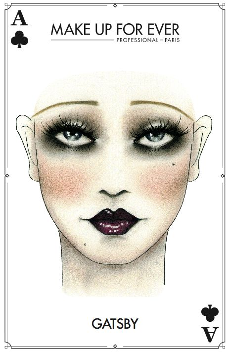 Great #Gatsby #Halloween #Makeup                                                                                                                                                                                 More