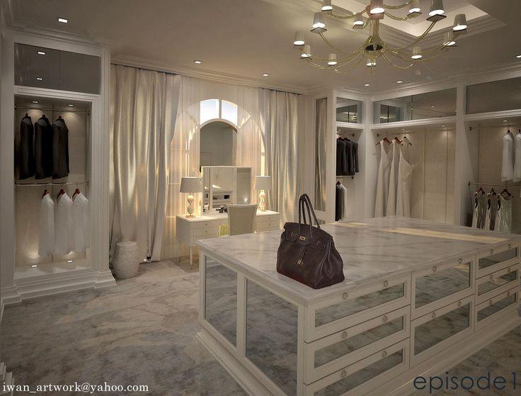 My dream closet. :)