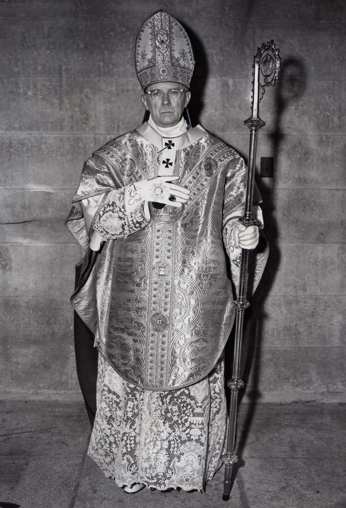 Cardinal James Francis McIntyre, Archbishop of Los Angeles