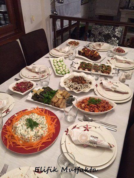 Akşam yemeğine misafirim vaaaarrr… | Elifik Mutfakta
